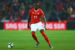 November 12, 2017 - Basel, Switzerland - Denis Zakaria of Switzerland  during the FIFA 2018 World Cup Qualifier Play-Off: Second Leg between Switzerland and Northern Ireland at St. Jakob-Park on November 12, 2017 in Basel, Basel-Stadt. (Credit Image: © Matteo Ciambelli/NurPhoto via ZUMA Press)