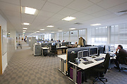 Linear office in IT department