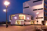 the art gallery Reitz in the Rheinau harbor, Cologne, Germany.<br /> <br /> die Kunstgalerie Reitz im Rheinauhafen, Koeln, Deutschland.