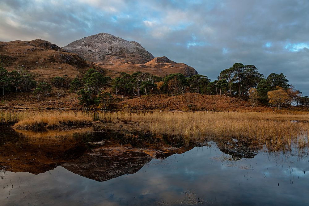 Loch Clair in the Torridon area, Scotland