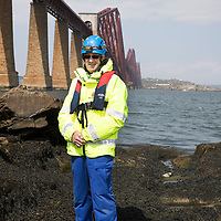 Andy Reid who works at the Asda Dalgety Bay store and is a volunteer with HM Coastguard at South Queensferry.<br />