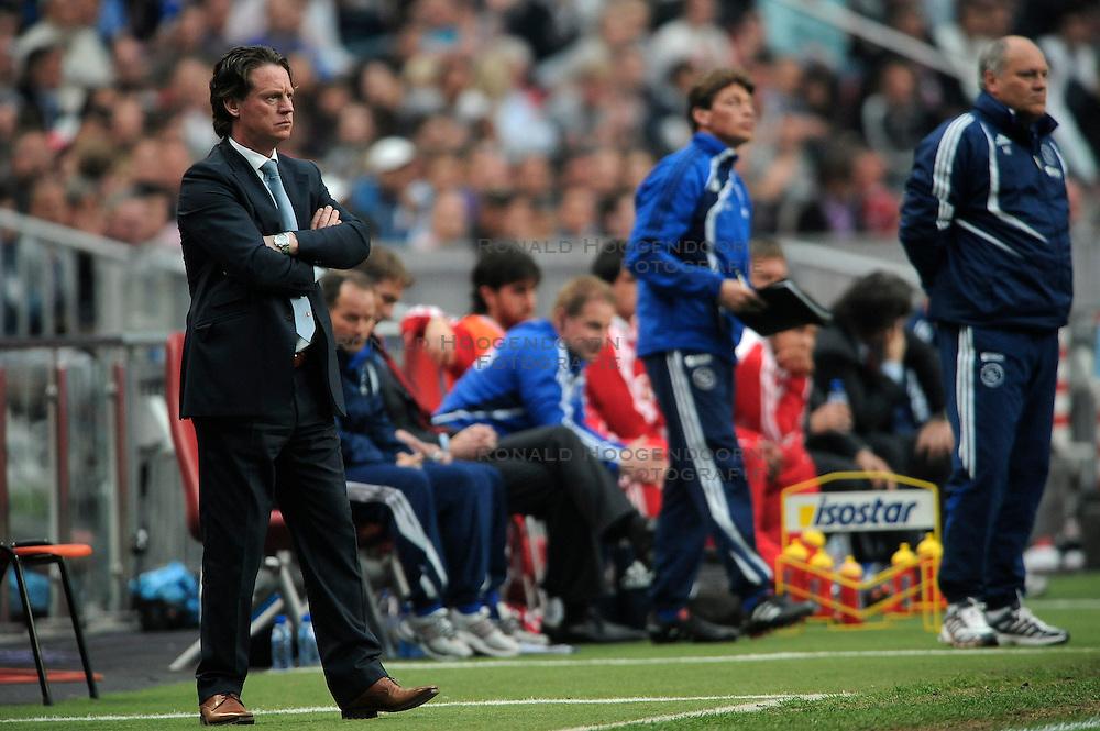 25-04-2010 VOETBAL: AJAX - FEYENOORD: AMSTERDAM<br /> De eerste wedstrijd in de bekerfinale is gewonnen door Ajax met 2-0 /Mario Been<br /> ©2010-WWW.FOTOHOOGENDOORN.NL