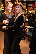 INDIA HICKS; HAYLEY SIEFF, Book launch for ' Daughter of Empire - Life as a Mountbatten' by Lady Pamela Hicks. Ralph Lauren, 1 New Bond St. London. 12 November 2012.