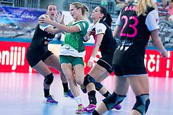 Jasna Turnsek #10 of RK Zelene Doline Zalec during handball match between RK Krim Mercator vs ZRK Zelene doline Zalec of Super Cup 2015, on August 29, 2015 in SRC Marina, Portoroz / Portorose, Slovenia. Photo by Urban Urbanc / Sportida
