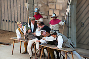 Freilicht-Theater Volksschauspiel Der Drachenstich, Furth im Wald, Bayerischer Wald, Bayern, Deutschland | open air theatre DerDrachenstich, dragon museum, Furth im Wald, Bavarian Forest, Bavaria, Germany