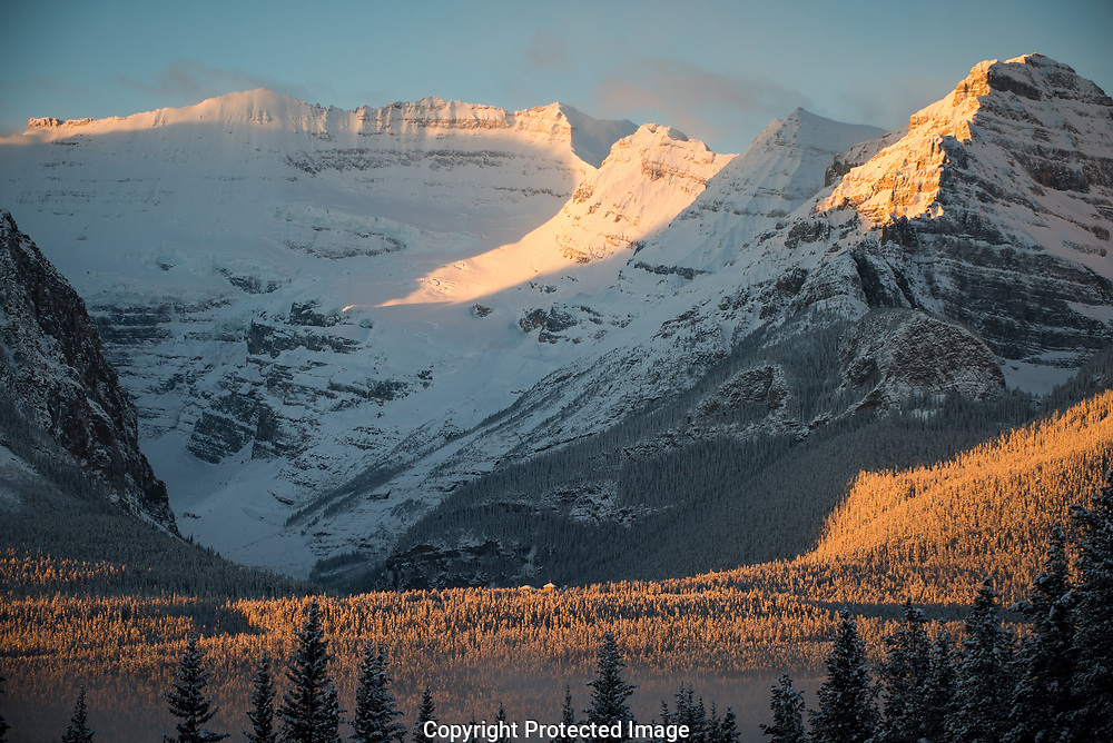 The mountains around Lake Louise., Alberta, Canada, Isobel Springett