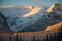 The mountains around Lake Louise., Alberta, Canada, Isobel Springett