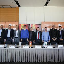 20161005: SLO, Basketball - Press conference of Nova KBM League before season 2016/17