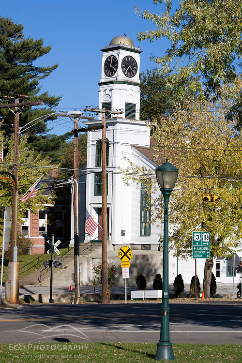 Downtown Whitefield, New Hampshire.