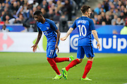 Ousmane Dembele (FRA) replaced Kevin Gameiro (FRA) during the Friendly Game football match between France and Spain on March 28, 2017 at Stade de France in Saint-Denis, France - Photo Stephane Allaman / ProSportsImages / DPPI