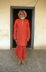 Man with learning disability at the Apahaj Ashram; Patiala; Punjab; India,