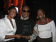 Stevie Wonder with his daughter and India.Arie.The Dream Concert to raise funds for the Washington, DC, Martin Luther King, Jr National Memorial. -Backstage-.Organized by Quincy Jones, Tommy Hilfiger and Russell Simmons.Radio City Music Hall.New York City, NY, USA .Tuesday, September 18, 2007.Photo By Selma Fonseca/ Celebrityvibe.com.To license this image call (212) 410 5354 or;.Email: celebrityvibe@gmail.com; .