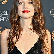 Johanna Smitz, nominated best actress Arrivers at Gold Movie Awards at Regents Street Theatre, on 9th January 2020, London, UK
