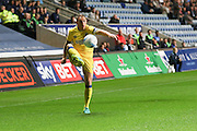 AFC Wimbledon defender & captain Barry Fuller (2) controls the ball during the EFL Sky Bet League 1 match between Coventry City and AFC Wimbledon at the Ricoh Arena, Coventry, England on 28 September 2016. Photo by Stuart Butcher.