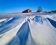 Snow Fence Barn, Mattituck, New York, Long Island, Oregon Road North Fork,  Between Sea and Sky Landscapes of Long Island's North Fork page 42