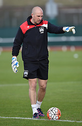 Goalkeeping coach - Mandatory by-line: Paul Knight/JMP - Mobile: 07966 386802 - 14/02/2016 -  FOOTBALL - Stoke Gifford Stadium - Bristol, England -  Bristol Academy Women v QPR Ladies - FA Cup third round