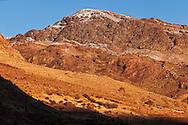 High Atlas Mountains early morning, Morocco.