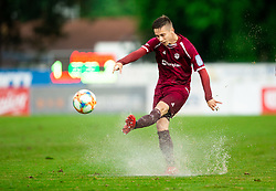 Tilen Mlakar of Triglav during football match between NK Triglav Kranj and NK Domzale in 35th Round of Prva liga Telekom Slovenije 2018/19, on May 22nd, 2019, in Sports park Kranj, Slovenia. Photo by Vid Ponikvar / Sportida