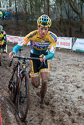 Tom Meeusen (BEL) of Telenet - Fidea Cycling Team, Men Elite, Cyclo-cross World Cup Hoogerheide, The Netherlands, 25 January 2015, Photo by Pim Nijland / PelotonPhotos.com