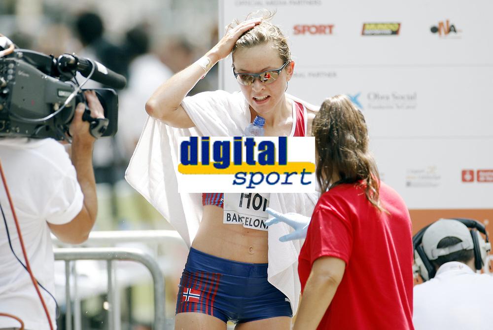 Friidrett, 31. juli  2010 ,<br /> EM Barcelona<br /> <br /> European Athletics Championships<br /> Barcelona<br /> <br /> <br /> maraton ,  Christina Holth  , Norge <br /> <br /> Foto: Anders Hoven , Digitalsport