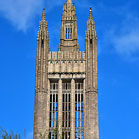 Mitchell Tower at Marischal College in Aberdeen, Scotland <br />