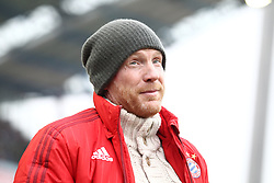 16.01.2016, Wildparkstadion, Karlsruhe, GER, Testspiel, Karlsruher SC vs FC Bayern Muenchen, im Bild Matthias Sammer (Sportdirektor FC Bayern Muenchen) mit Bandana Muetze // during a preperation Football Match between Karlsruher SC and FC Bayern Munich at the Wildparkstadion in Karlsruhe, Germany on 2016/01/16. EXPA Pictures © 2016, PhotoCredit: EXPA/ Eibner-Pressefoto/ Neis<br /> <br /> *****ATTENTION - OUT of GER*****