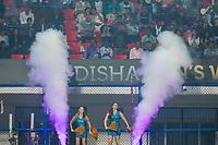 BHUBANESWAR (INDIA) - cheergirls   tijdens Belgie-Pakistan bij het WK Hockey heren.    COPYRIGHT KOEN SUYK