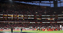 February 3, 2018 - Lisbon, Portugal - General view of Luz stadium during the Portuguese League  football match between SL Benfica and Rio Ave FC at Luz  Stadium in Lisbon on February 3, 2018. (Credit Image: © Carlos Costa/NurPhoto via ZUMA Press)
