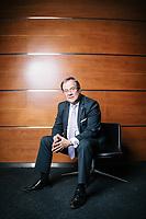 Armin Laschet, Ministerpräsident von NRW, posiert für ein Portrait in Berlin