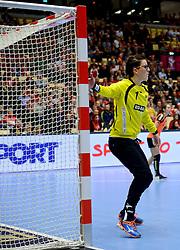 18-12-2015 DEN: World Championships Handball 2015 Poland  - Netherlands, Herning<br /> Halve finale - Nederland staat in de finale door Polen met 30-25 te verslaan / Marieke van der Wal #1