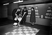 1966 - Exhibition of Floor Maintenance Equipment and Johnson Wax products  at the Building Centre