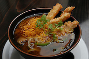 Japanese Miso Soup with Tempura
