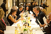 OLGA POLIZZI, Graydon Carter hosts a dinner to celebrate the reopening og the American Bar at the Savoy.  Savoy Hotel, Strand. London. 28 October 2010. -DO NOT ARCHIVE-© Copyright Photograph by Dafydd Jones. 248 Clapham Rd. London SW9 0PZ. Tel 0207 820 0771. www.dafjones.com.