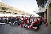 November 21-23, 2014 : Abu Dhabi Grand Prix, Fernando Alonso (SPA), Ferrari, Nico Rosberg  (GER), Mercedes Petronas