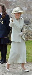 Princess Alexandra at the wedding of the Hon.Alexandra Knatchbull to Thomas Hooper held at Romsey Abbey, Romsey, Hampshire on 25th June 2016