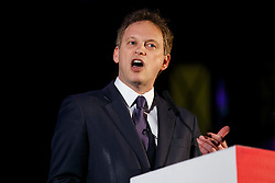 © Licensed to London News Pictures. 17/03/2015. LONDON, UK. Conservative Party Chairman Grant Shapps delivering a speech during 'Homes for Britain' rally at Methodist Central Hall in London on Tuesday, 17 March 2015. Photo credit : Tolga Akmen/LNP