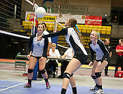Utah State High School Volleyball 4A championship match between Sky View and Timpview in the UCCU in Orem, Saturday, Nov. 3, 2012.