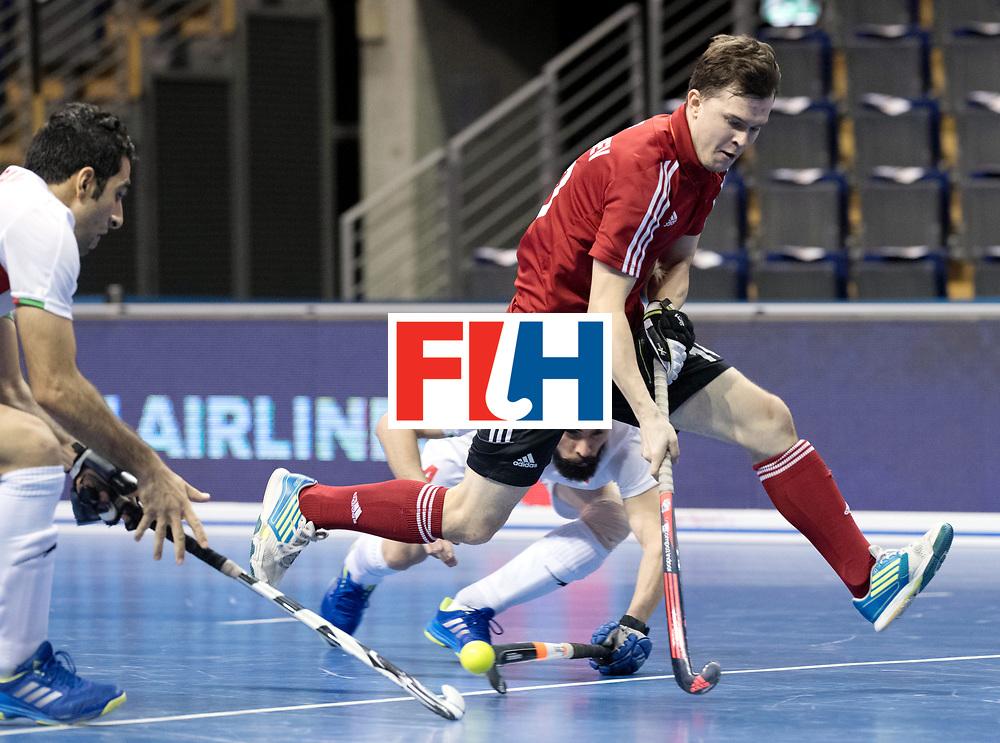 BERLIN - Indoor Hockey World Cup<br /> Men: Iran - Russia<br /> foto: GOLUBEV Pavel.<br /> WORLDSPORTPICS COPYRIGHT FRANK UIJLENBROEK