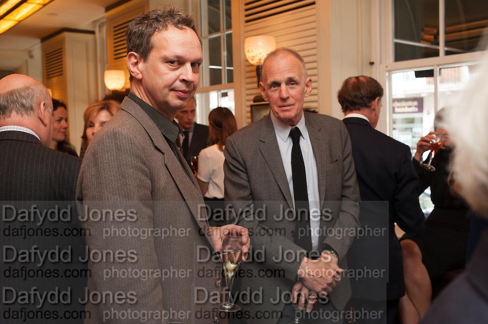 TOM DIXON; JAMES FOX, Vanity Fair Lunch hosted by Graydon Carter. 34 Grosvenor Sq. London. 14 May 2013