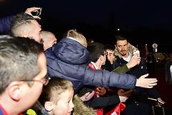 March 15, 2019 - Lille, France, FRANCE - Arrivee au Stade des joueurs Lillois.Jose Fonte  (Credit Image: © Panoramic via ZUMA Press)