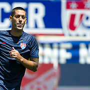 June 01, 2014: USA Men's National Team Clint Dempsey forward (8)  is in action prior to the  U.S.A. Men's National Team vs. Turkish National Team- World Cup send off match at Red Bull Arena - Harrison, NJ.  Mandatory Credit: Kostas Lymperopoulos/Cal Sport Media  (Credit Image: © Kostas Lymperopoulos/ Cal Sport Media)