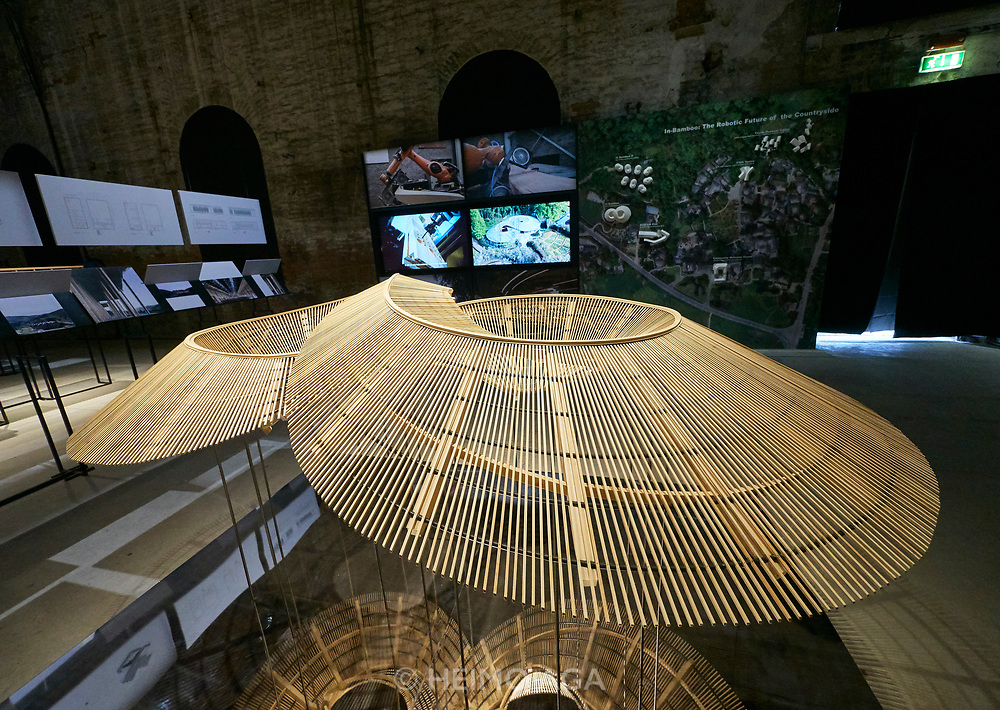 "FREESPACE - 16th Venice Architecture Biennale. Arsenale. China, ""Building a Future Countryside""."