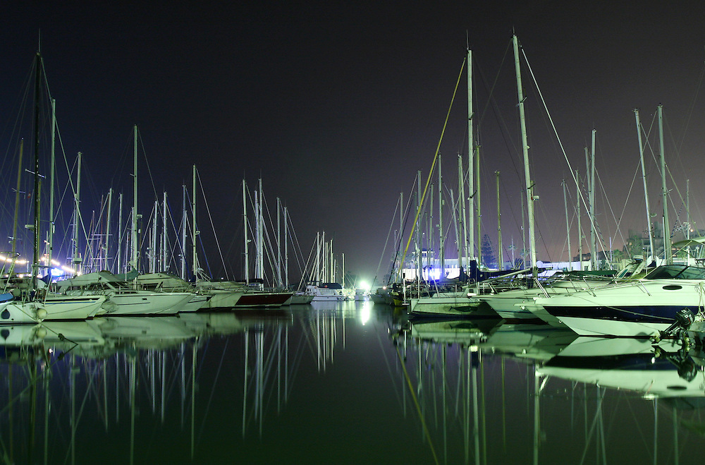 Port el-Kantaoui was established in 1977 as Tunisia's first tourist resort and is now one of the country's most popular destinations. Modeled on the French Riviera's Port-Grimaud, the resort is built in Andalusian-Moorish style around a huge marina.