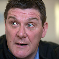 St Johnstone Manager Tommy Wright speaks to reporters this morning....17.04.14<br /> Picture by Graeme Hart.<br /> Copyright Perthshire Picture Agency<br /> Tel: 01738 623350  Mobile: 07990 594431