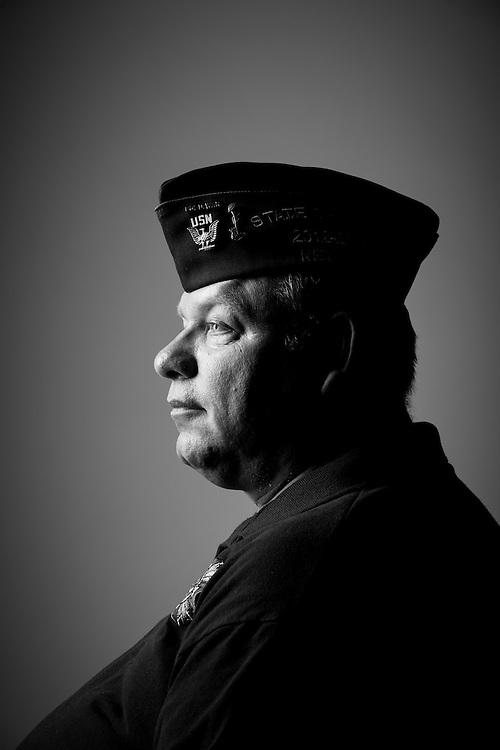 Carlton R. Fogg<br /> Navy<br /> E-4<br /> Hospital Corpsman<br /> 1975 - 1988<br /> Iran<br /> <br /> Veterans Portrait Project<br /> St. Louis, MO