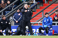 Oldham - Saturday February 26th, 2010 :  Oldham Manager Dave Penney during the Coca Cola League One match at Boundary Park, Oldham. (Pic by Paul Chesterton/Focus Images)..
