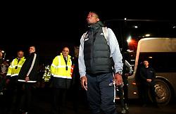 Paul Pogba of Manchester United arrives at Ashton Gate for the Carabao Cup Quarter Final tie with Bristol City - Mandatory by-line: Robbie Stephenson/JMP - 20/12/2017 - FOOTBALL - Ashton Gate Stadium - Bristol, England - Bristol City v Manchester United - Carabao Cup Quarter Final