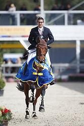 Vanderhasselt Yves, (BEL), Keops v Begijnakker<br /> Final 5 years old horses<br /> FEI World Breeding Jumping Championship <br /> Lanaken - Zangersheide 2015<br /> © Hippo Foto - Dirk Caremans<br /> 20/09/15