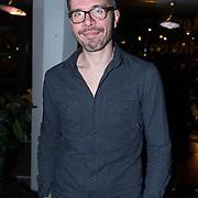 NLD/Amsterdam/20140227 - Boekpresentatie Jeroen van Inkel - Kort Sluiting , Michiel Veenstra