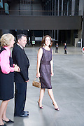 Crown Princess Mary of Denmark; Vicente Todoli. Per Kirkeby Opening Reception and Dinner. Tate Modern. 16 June 2009.